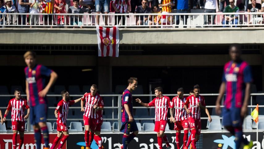 El Girona sigue con paso firme