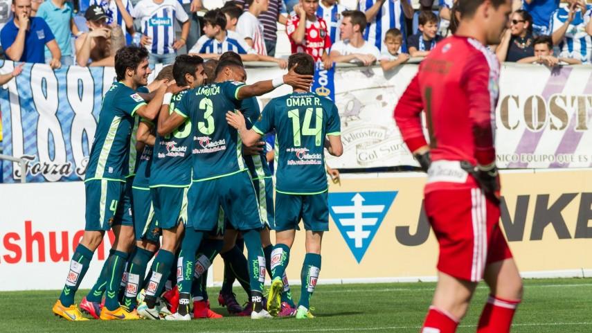 El Valladolid se crece en Huelva