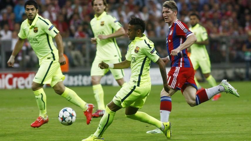 Dulce derrota del Barcelona en Múnich