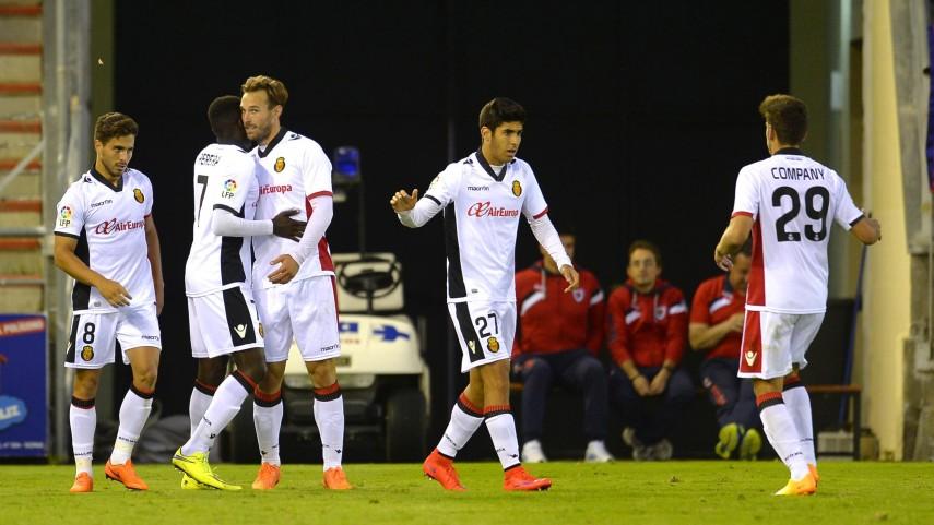 Xisco devuelve la victoria al Mallorca