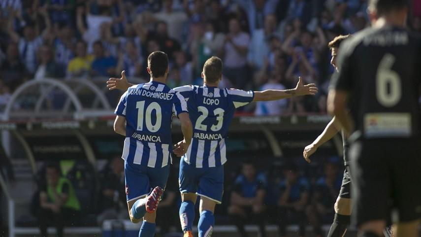 El Deportivo toma ventaja en la pelea por la permanencia