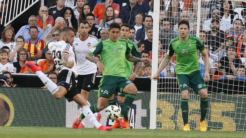 El Valencia vivirá con esperanza la última jornada de la Liga BBVA