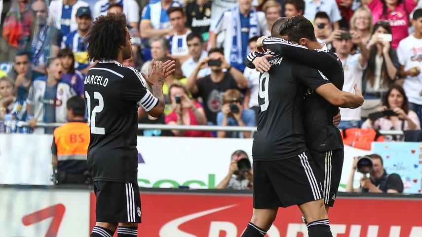 Triunfo insuficiente del Madrid