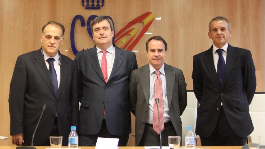 La Liga presenta un nuevo programa sobre gestión de la industria del deporte