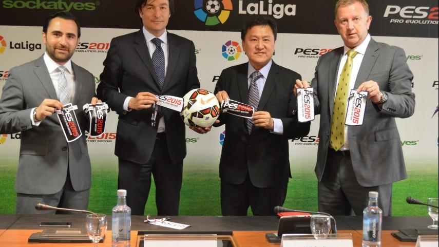 La Liga y Sockatyes firman un acuerdo para la promoción del videojuego PES2015