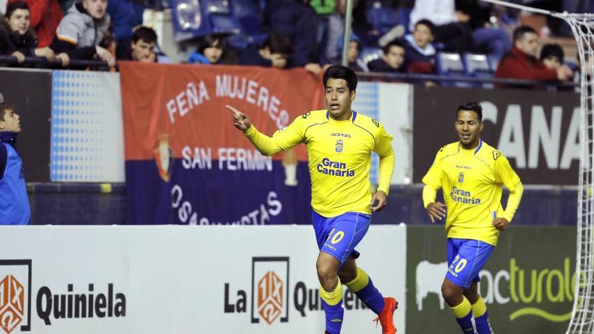 Jonathan Viera y Araujo dan la victoria a Las Palmas