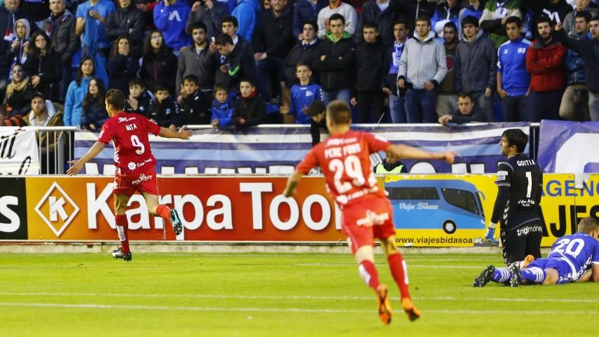El Girona da un paso más hacia el ascenso