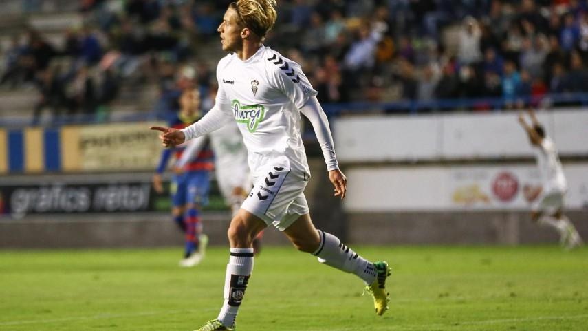 Keko acerca al Albacete hacia la permanencia