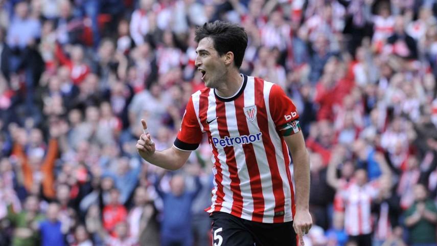 Iraola se despide del Athletic marcando un gol
