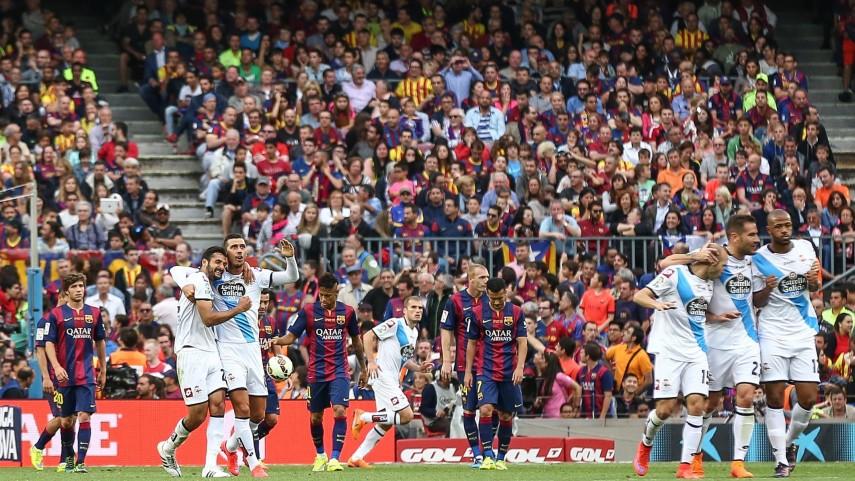 Salomão obra el milagro para el Deportivo