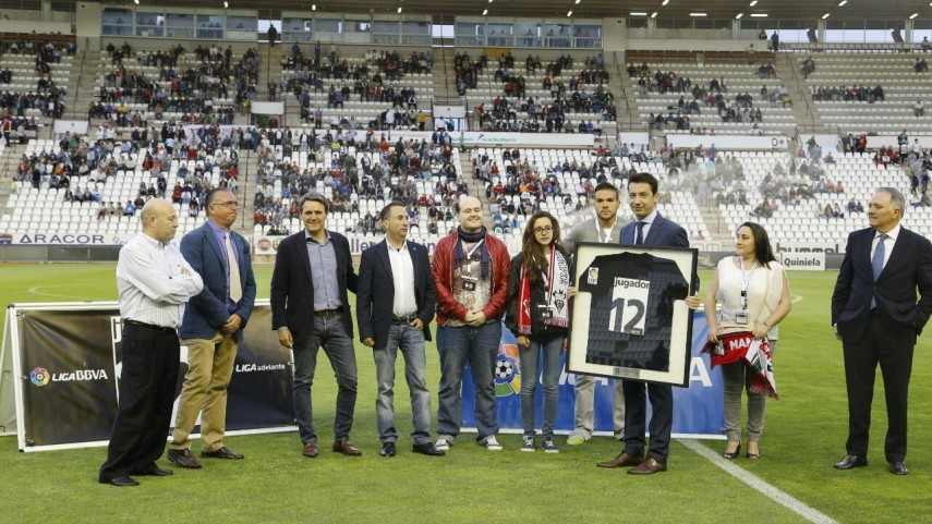 La afición del Albacete Balompié recibe el premio 'Jugador Número 12'