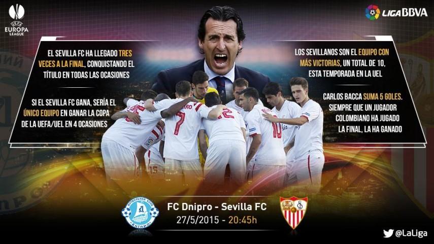 El Sevilla, a un paso de hacer historia