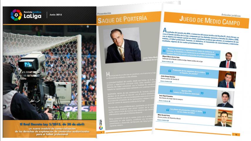 La Fundación lanza la Revista Jurídica La Liga