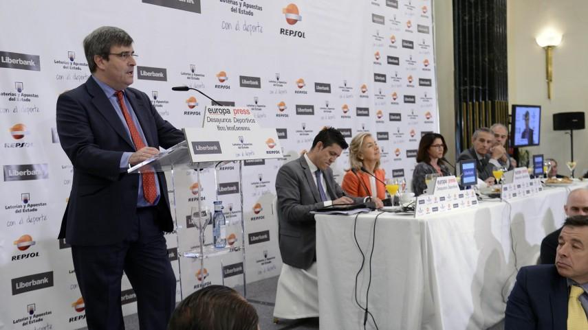 LaLiga y el fútbol profesional, en los 'Desayunos Deportivos de Europa Press'
