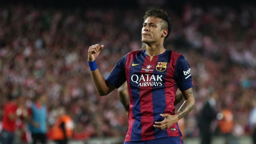 Neymar, clave en la victoria de Brasil