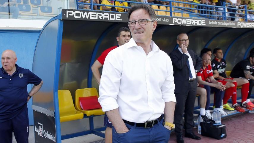 Juan Antonio Anquela, nuevo entrenador de la SD Huesca