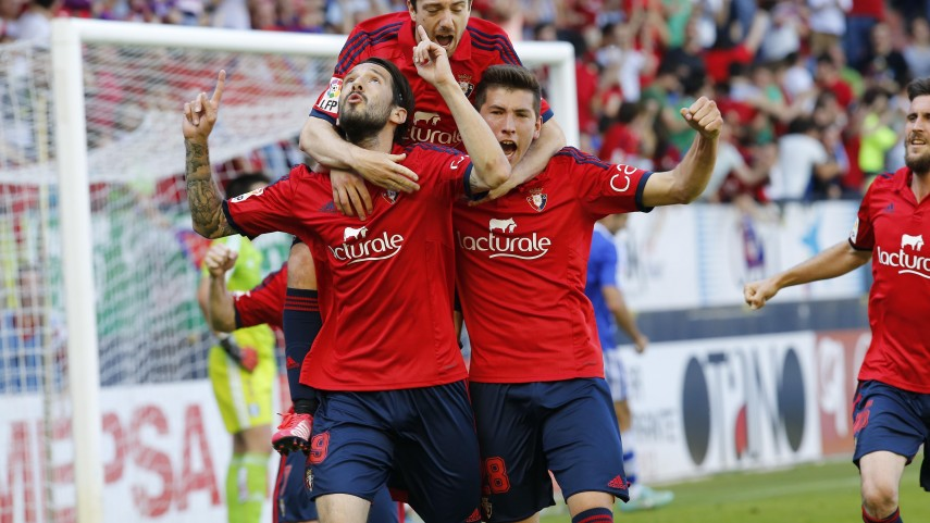 Sonríe Osasuna, llora el Recreativo