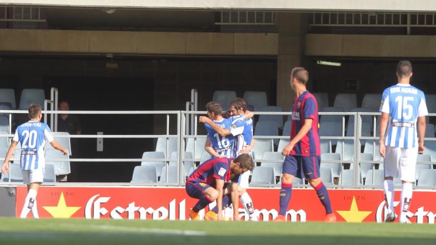 Eraso y el Leganés sentencian al Barcelona B
