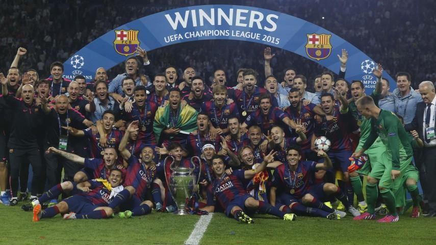 El FC Barcelona conquista su quinta Champions League