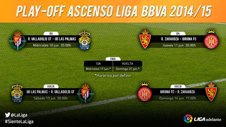 Confirmados los cruces de play-off