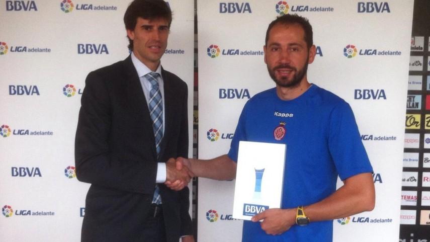 Premios BBVA: Pablo Machín, mejor entrenador de la Liga Adelante en mayo