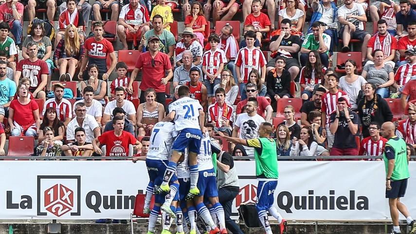 El Zaragoza remonta y sigue soñando con la Liga BBVA