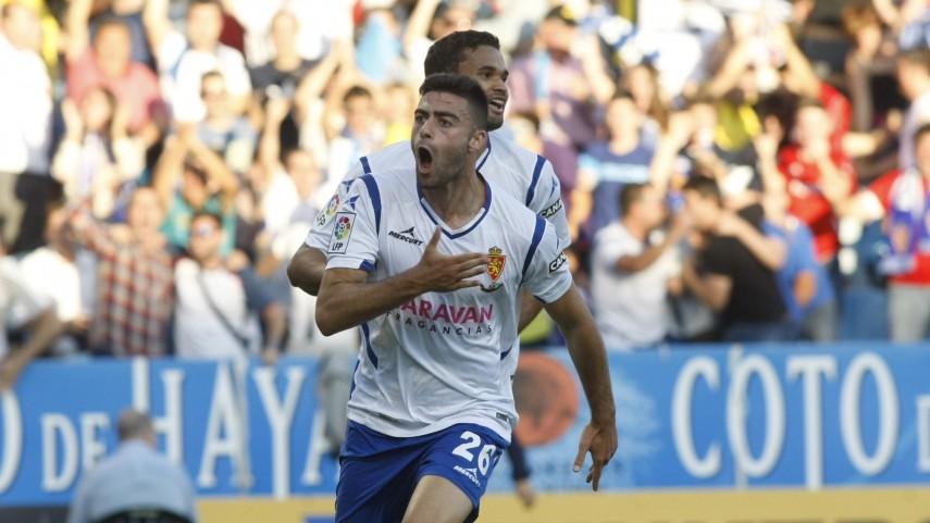 Remontada y ventaja para el Zaragoza