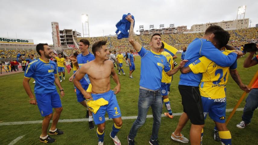 Las Palmas asciende a Liga BBVA con épica