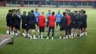 Primer entrenamiento del Málaga CF en Argentina