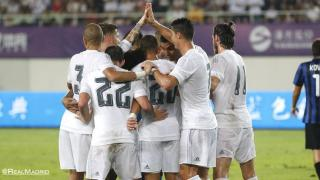 Real Madrid shines against Inter