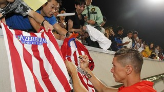 Torres, the favourite of Japanese fans