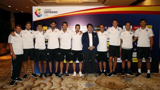 LaLiga promueve la Marca España en China