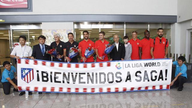 El Atlético de Madrid ya está en Japón
