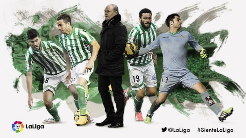 Así fue el Real Betis 2014/15