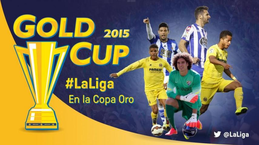 Un cuarteto mexicano y un costarricense de LaLiga, en la Copa Oro