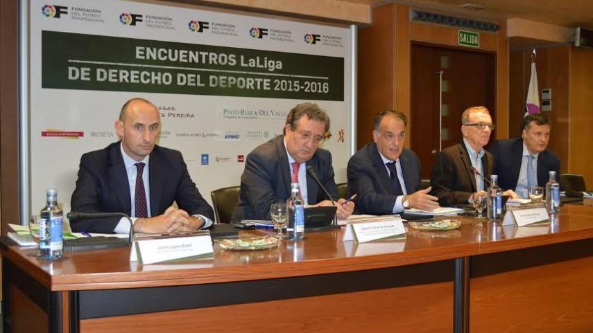 Inauguración de los Encuentros LaLiga de Derecho del Deporte 2015-2016