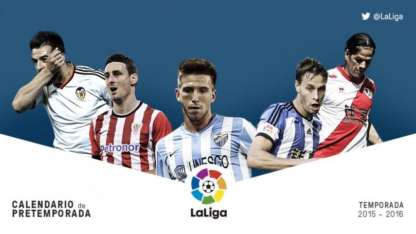 Pretemporada Liga BBVA: Semana del 20 al 26 de julio