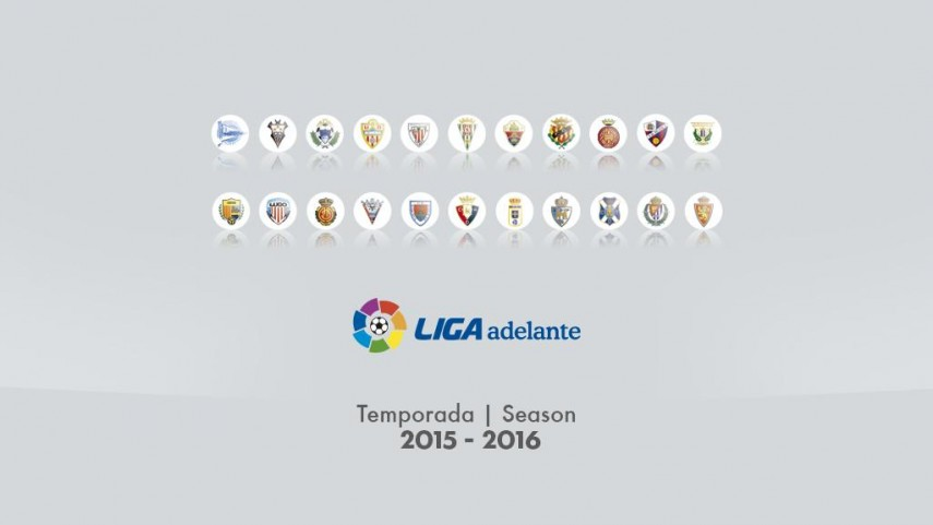 Calendario completo de todos los equipos de la Liga Adelante 2015/16