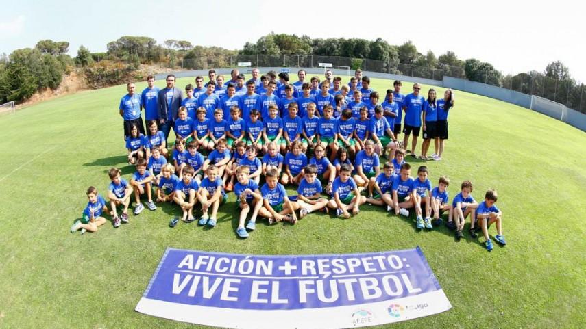 Los valores del deporte conviven en el Campus LaLiga
