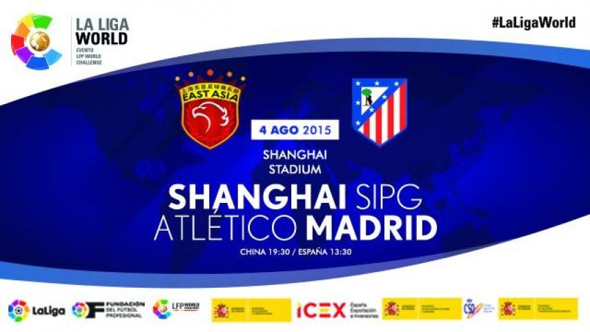 El Atlético de Madrid visitará China de la mano de LaLiga World