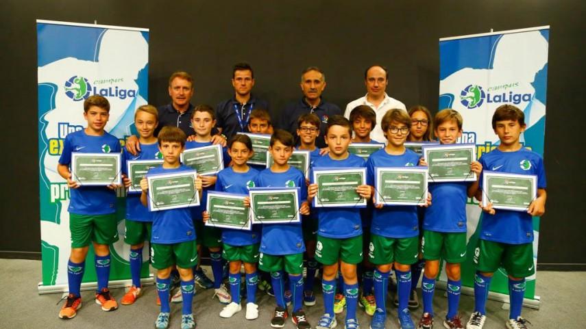 Concluye el exitoso Campus LaLiga 2015