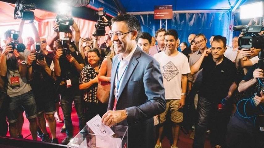 Josep María Bartomeu, nuevo presidente del FC Barcelona