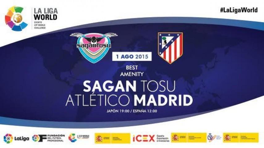 Japón será la primera parada del Atlético en la Gira LFP World Challenge