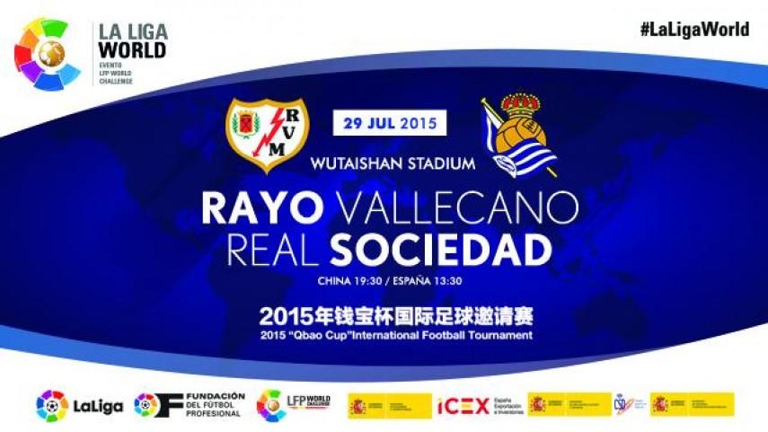 Nanjing acoge a Real Sociedad y Rayo en la Gira LFP World Challenge