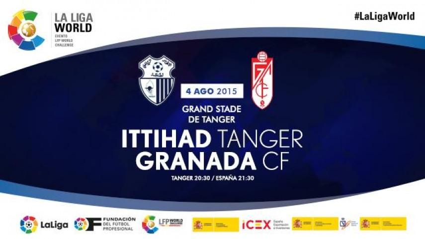 Tánger, escenario del Ittihad - Granada del programa LFP World Challenge