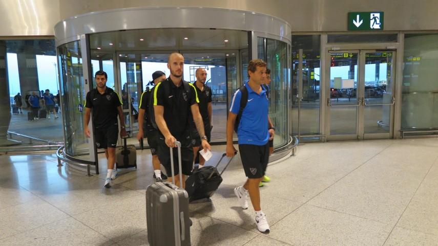 El Málaga ya vuela hacia Cali