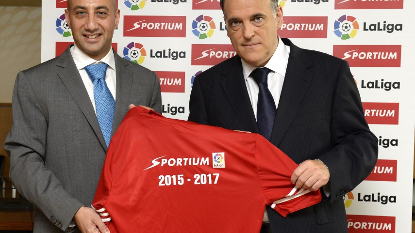 LaLiga y Sportium renuevan su acuerdo de patrocinio