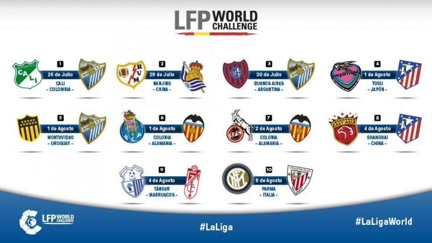 Arranca la Gira LFP World Challenge