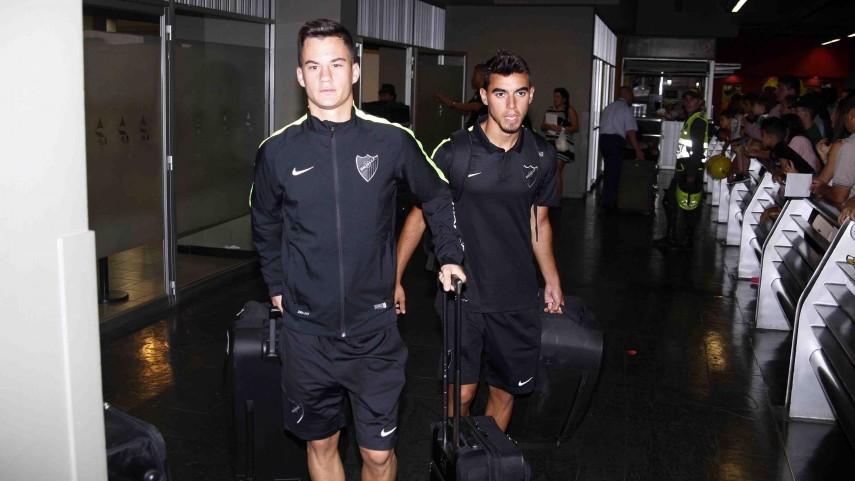 El Málaga CF llega a Santiago de Cali