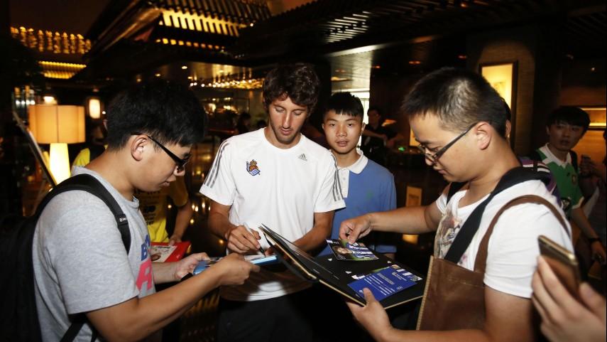 Real Sociedad y Rayo ya se encuentran en China